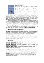 Premios e selecionados em Português - aBrace