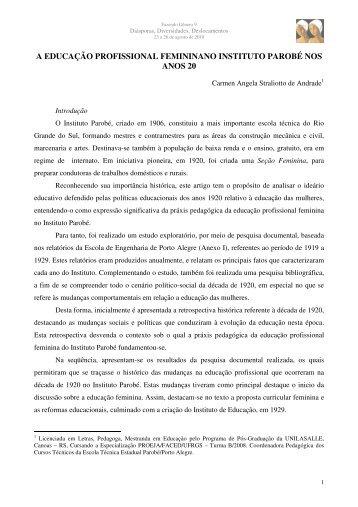 Carmen Angela Straliotto de Andrade - Fazendo Gênero 10