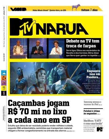 JORNAL MTV (Arquivo .pdf) - Estação Resgate