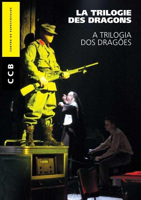 Programa de Sala Trilogia dos Dragões - Centro Cultural de Belém