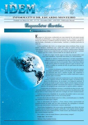 IDEM - Informativo Dr. Eduardo Monteiro - Eduardomonteiro.org.br