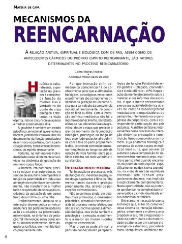 Mecanismos da reencarnação - Revista Cristã de Espiritismo