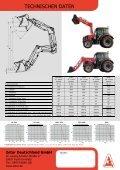 Technische Details Frontlader SLi in PDF - Zetor Deutschland GmbH - Seite 3