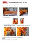 Schneepflüge SPTR E mit fester Schürfleiste in PDF - Zetor ... - Seite 2