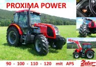 Prospekt Proxima Power (PDF) - Zetor Deutschland GmbH