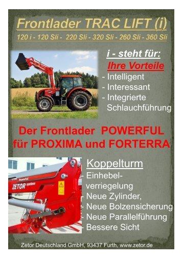 Vorteile - Zetor Deutschland GmbH