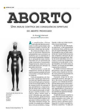 Aborto - Revista Cristã de Espiritismo