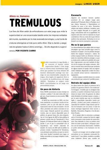 Juegos: [PDF, 1264 kB] - Linux Magazine