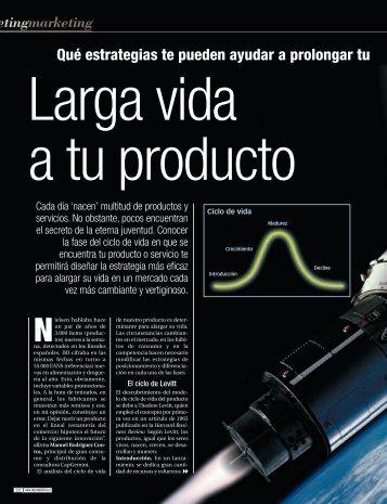 Ciclo de vida del producto - Emprendedores