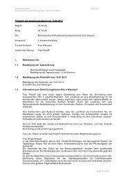Protokoll der Ausschusssitzung am 14.08.2012 Beginn: 19:00 Uhr ...