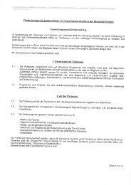 Zuwendungszweck/Vorbemerkung - in der Gemeinde Zeuthen
