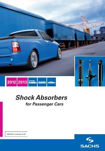 SACHS catalogue for passenger car shock absorbers (PDF - ZF ...