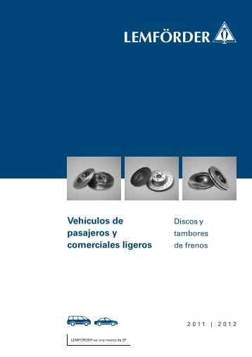 Catálogo de Discos de Freno 2011 (PDF, 1,0 MB)