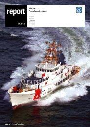 (PDF, 1,0 MB) Der ZF Marine Report - ZF Friedrichshafen AG