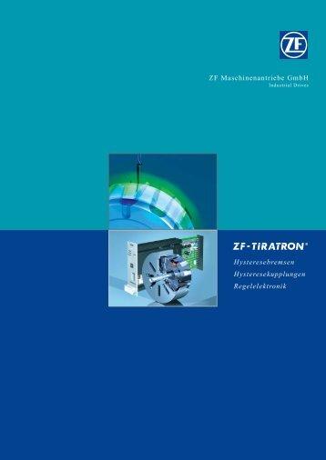 Umschl Tiratron dt (Page 2) - ZF Friedrichshafen AG