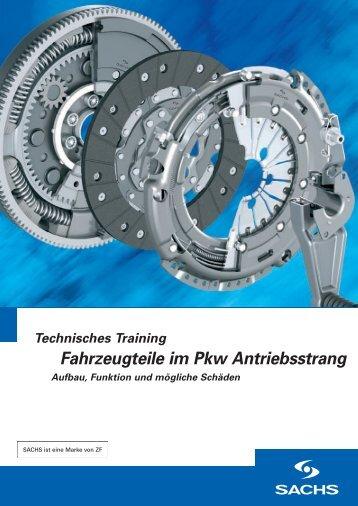 Fahrzeugteile im Pkw Antriebsstrang - ZF Friedrichshafen AG