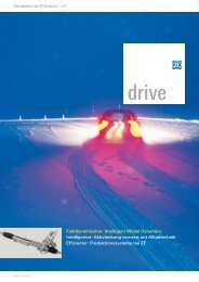 Fahrdynamischer: Intelligent Wheel Dynamics Intelligenter - ZF ...