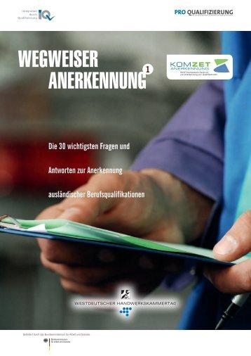 """""""Wegweiser Anerkennung"""" (PDF) - wir-sind-du"""