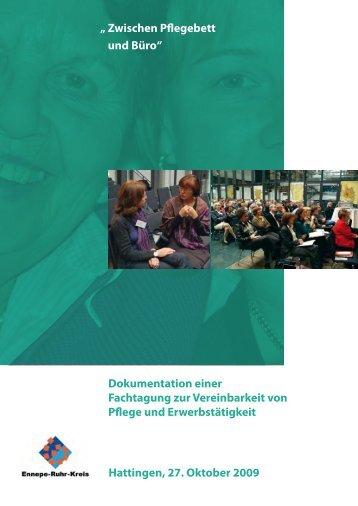 """""""Zwischen Pflegebett und Büro"""" - Dokumentation der Fachtagung ..."""