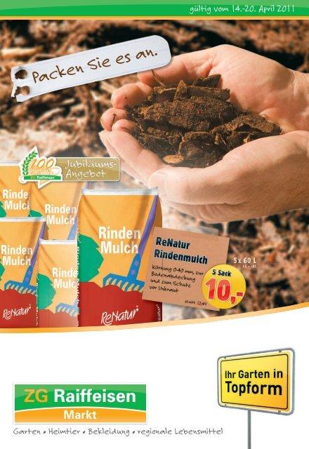 Werbeprospekt 2-2011 - ZG Raiffeisen