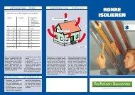 Tipps und Tricks Rohrisolierung (PDF, 1.5 MB) - Raiffeisen Baucenter