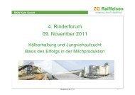 4. Rinderforum 09. November 2011 - RKW Kehl