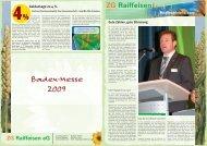 Baden-Messe 2009 - ZG Raiffeisen