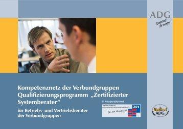 Zertifizierte Systemberater.pmd - Zentralverband Gewerblicher ...