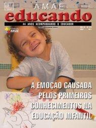 44 ANOS ACOMPANHANDO O EDUCADOR - Fundação AMAE