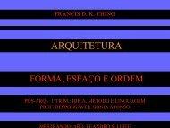 ARQUITETURA - Sonia Afonso