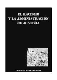 El racismo y la Administración de Justicia - Biblioteca Hegoa