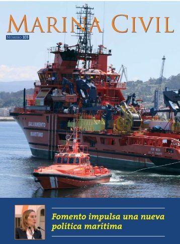 Revista Marina Civil. Nº 103 - Salvamento Marítimo