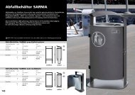 Abfallbehälter - Ziegler