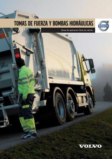 tomas de fuerza y bombas hidráulicas - Volvo Truck Corporation