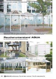 Raucherunterstand AQUA - Ziegler