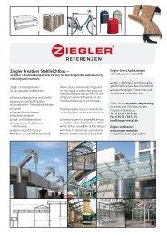Ziegler kreativer Stahlleichtbau – REFERENZEN