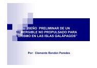 """""""DISEÑO PRELIMINAR DE UN SUMERGIBLE NO PROPULSADO ..."""