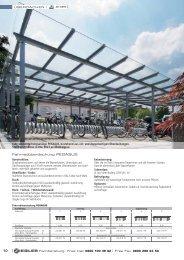 Fahrradüberdachung PEGASUS - Ziegler