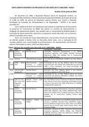 CARTA ABERTA REFERENTE AO PROCESSO DE ... - Idesam