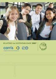 Relatório de Sustentabilidade 2007 - Carris