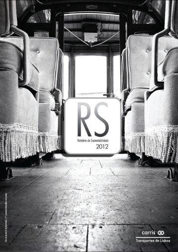 Relatório de Sustentabilidade 2012 - Carris