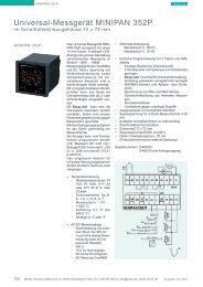 Universal-Messgerät MINIPAN 352P - ziehl.de