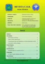 Para consultar a mais recente edição da revista - Clube Ornitófilo ...