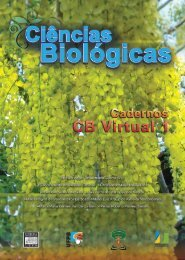 Biologia e Fisiologia Celular - UFPB Virtual - Universidade Federal ...