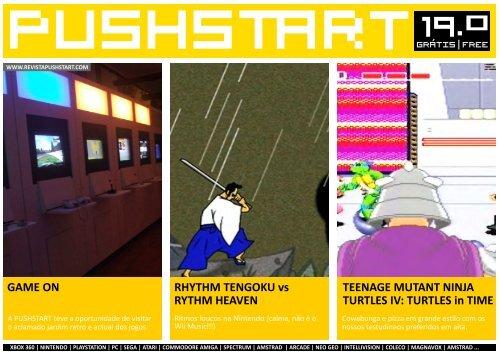 PUSHSTART N19 - Revista Digital de Videojogos Pushstart