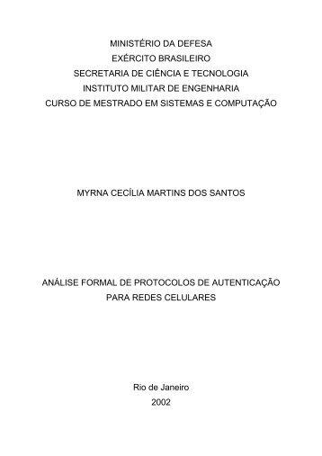 MINISTÉRIO DA DEFESA EXÉRCITO BRASILEIRO ... - GTA