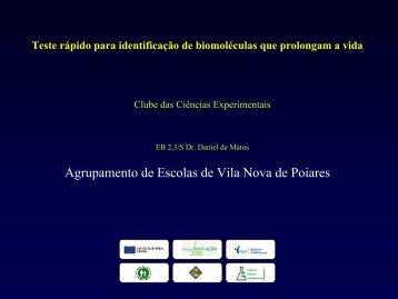 Apresentação do projecto Longeva - Ciência Viva
