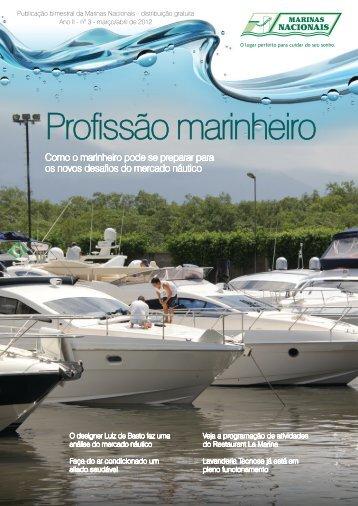 Profissão marinheiro - Marinas Nacionais