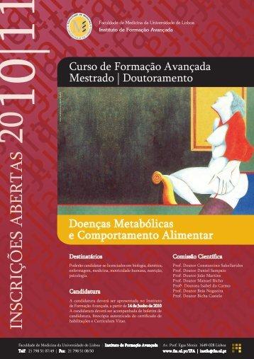 CARTAZ DMetabolicas - Faculdade de Medicina da Universidade ...