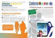caderno jovem - Arquidiocese de Goiânia